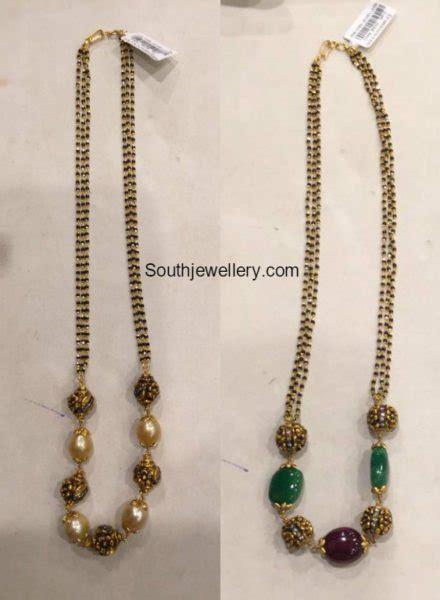 black gold chain models nallapusalu chain models jewelry designs
