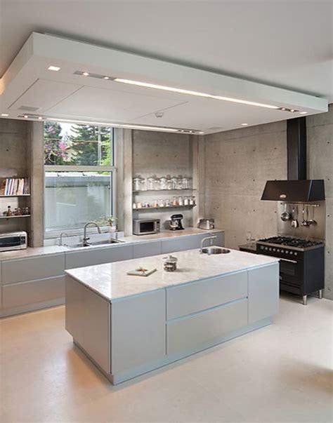 modern kitchen ceiling lights interior drop soffits build