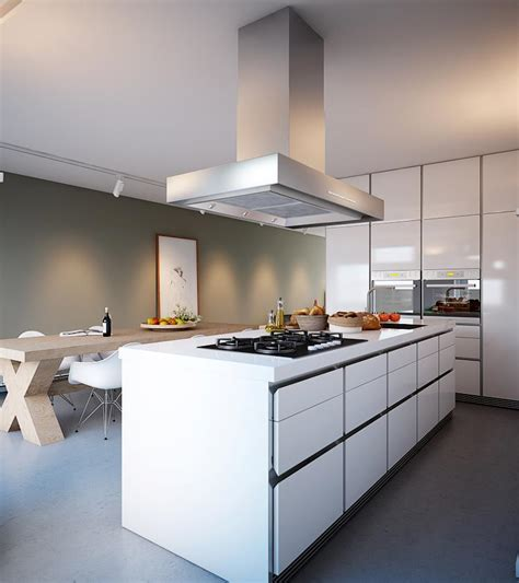 white kitchen with island white kitchen island interior design ideas