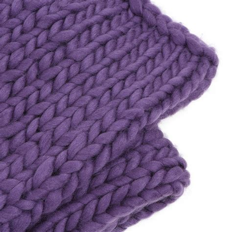 big knit blanket warm chunky knit blanket thick yarn bulky big sofa throw