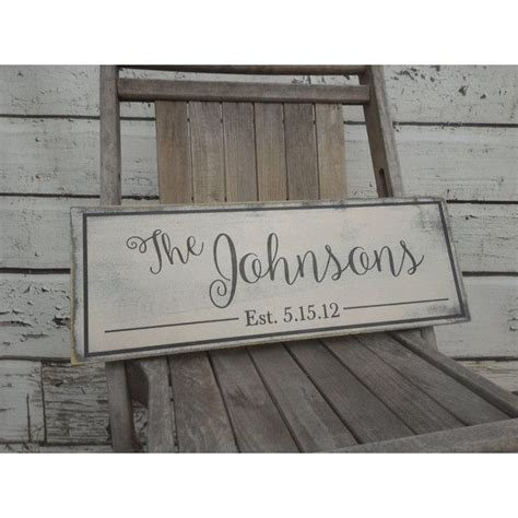 best 25 wooden name signs ideas on last name