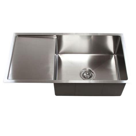 stainless steel undermount kitchen sinks single bowl 36 inch stainless steel undermount single bowl kitchen