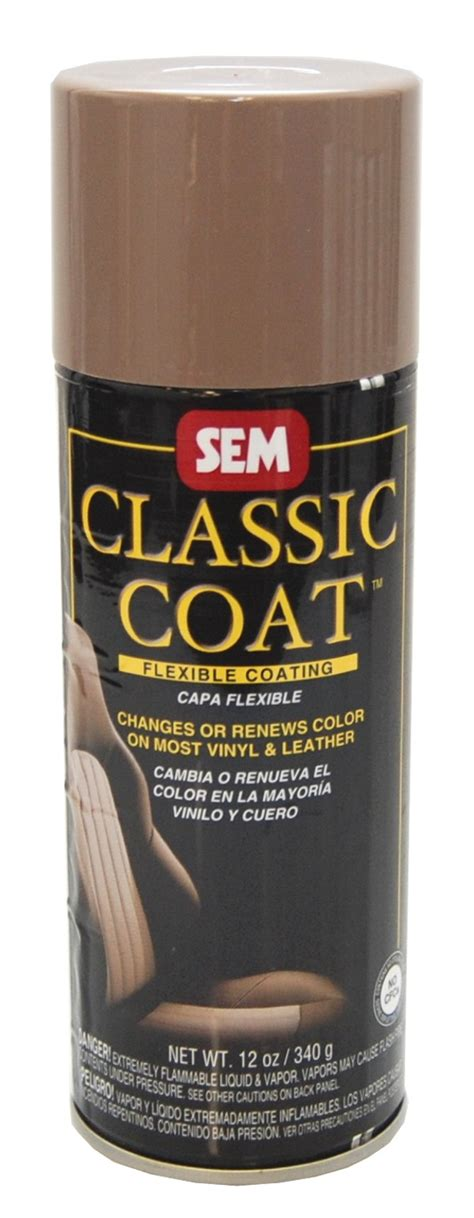 spray paint on leather sem classic coat med beige vinyl leather spray paint ebay