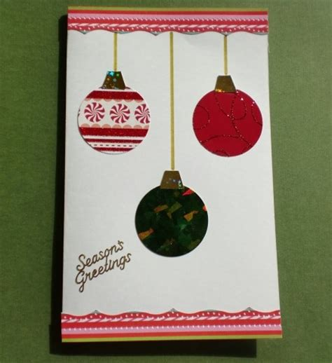 how to make card ornaments ornament card think crafts by createforless