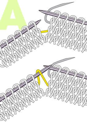 m1l knitting how to m1l and m1r and to never forget which is which