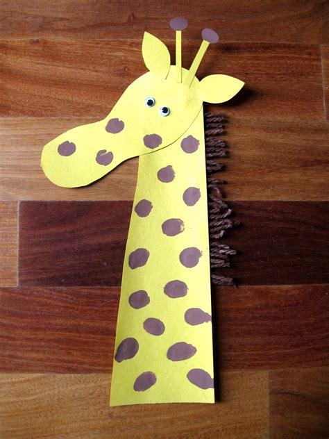 Derosier My Creative Footprint Giraffe