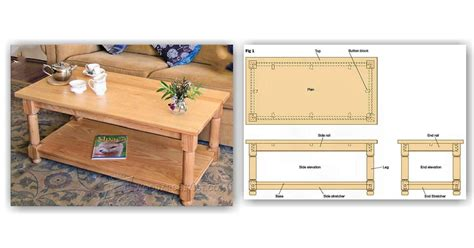 woodworking with ash ash coffee table plans woodarchivist