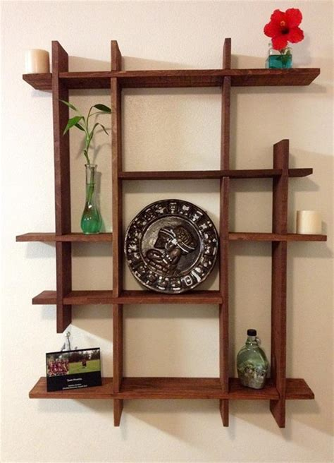 decorative woodwork diy recycled pallet decorative shelf recycled pallet ideas