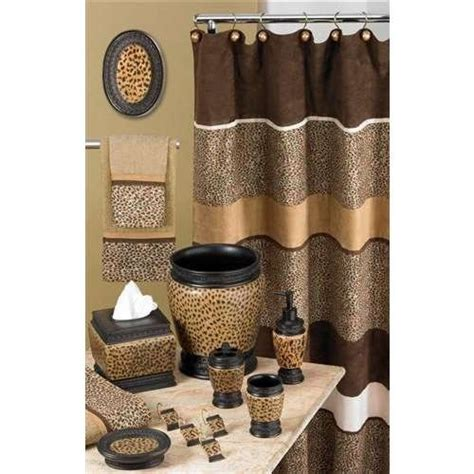 animal print bathroom accessories leopard print bathroom accessories future home for me