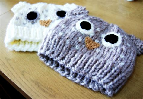 owl hat pattern knit the geeky knitter owl hat free knitting pattern
