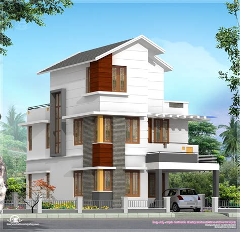 home design for 4 cent 4 bedroom house plan in less that 3 cents home kerala plans