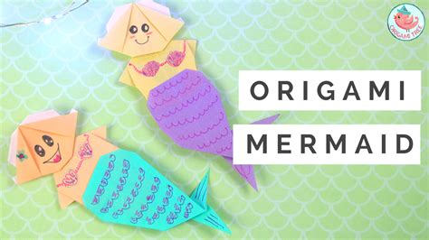 origami mermaid origami mermaid tutorial 187 origamitree