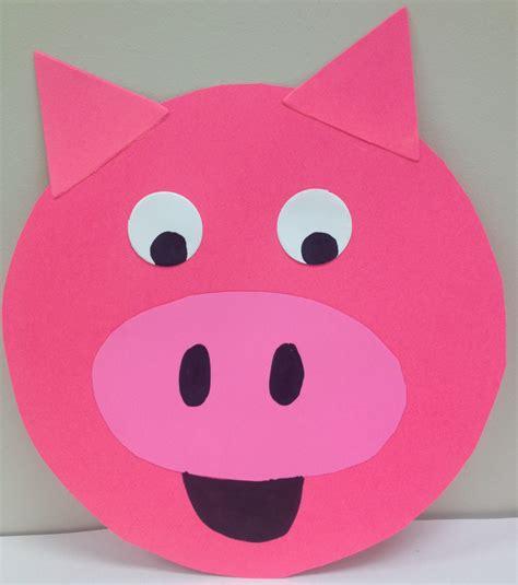 pig crafts for pig storytime narrating tales of preschool storytime