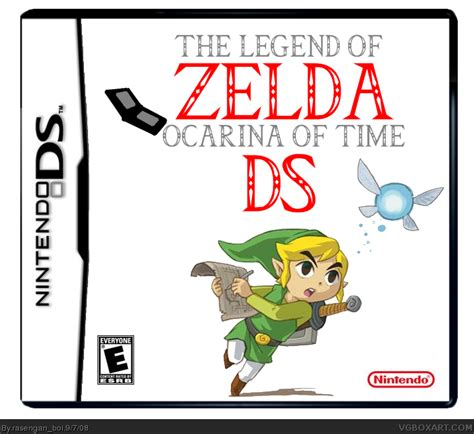 legend of ocarina of time the legend of ocarina of time ds nintendo ds box