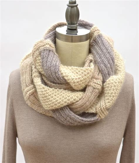 infinity knit scarf infinity scarves you ll times infinity get the patterns