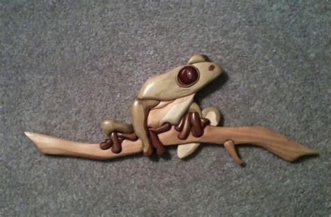 tree frog woodworking 17 best images about wood intarsia on