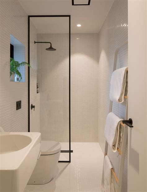 how to design a small bathroom how minimalist design took this small bathroom to the next level