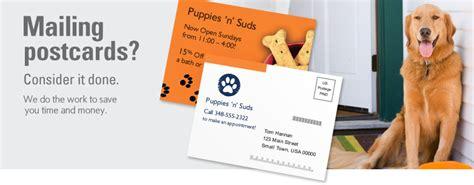 postcard mailing amp mailing services vistaprint