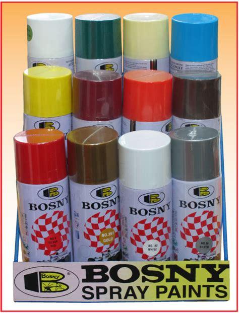 spray paint on bosny spray paint