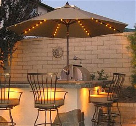 lighted patio umbrellas the best patio umbrella for your backyard