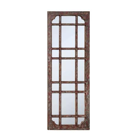 home decorators mirror home decorators collection vinson brown framed mirror