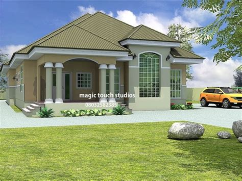 houses with 5 bedrooms 5 bedroom bungalow house plan in nigeria 5 bedroom