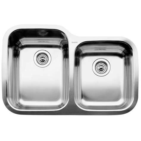 3 bowl kitchen sink undermount blanco 1 3 4 bowl undermount stainless steel kitchen sink