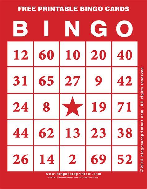 how to make a printable card free printable bingo cards bingocardprintout