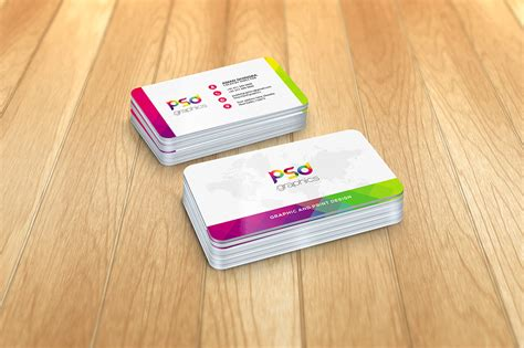 card corner rounded corner business card mockup free psd graphics on