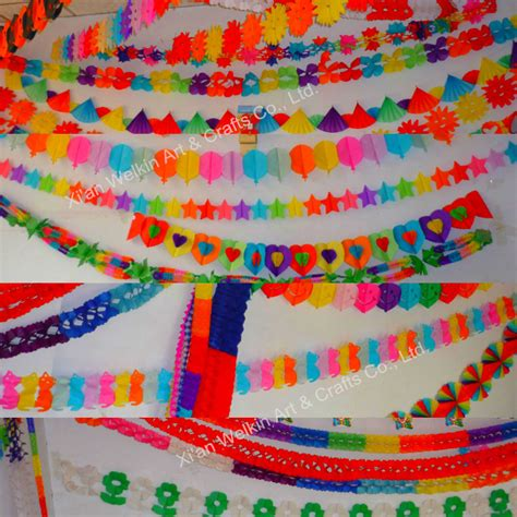 decorations buy paper garland crepe paper decorations buy
