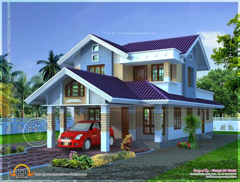 houses for narrow lots narrow lot house plan home kerala plans