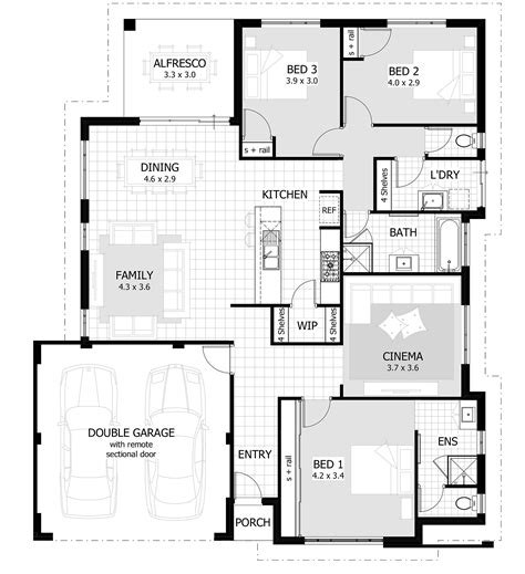 3 bedroom houses 3 bedroom house plan with garage 2 bedroom house