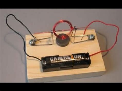 An Electric Motor by How To Make An Electric Motor At Home