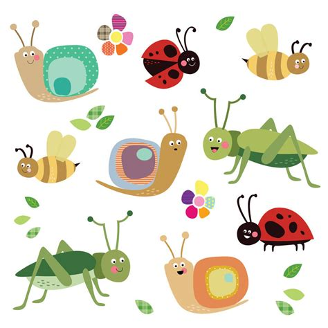 How To Apply Wall Stickers fabric insect wall stickers by spin collective