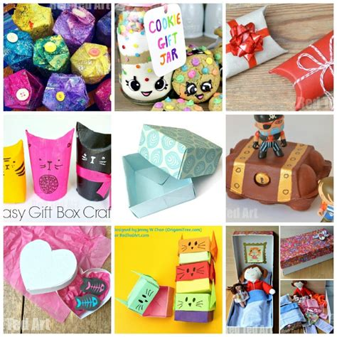 ideas for children to make 15 gift box ideas for to make and enjoy