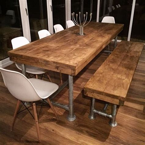 bench dining room tables best 10 dining table bench ideas on