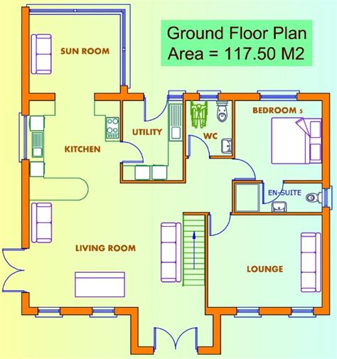 ground floor house plan ground floor plans of a house house design plans
