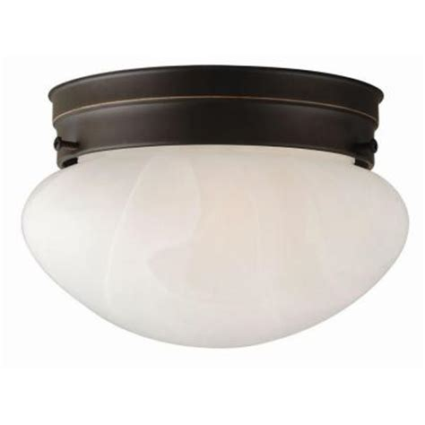 home depot ceiling light fixtures design house millbridge 1 light rubbed bronze ceiling