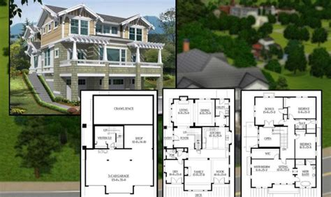 sims 3 4 bedroom house design the 16 best sims 3 houses blueprints architecture plans