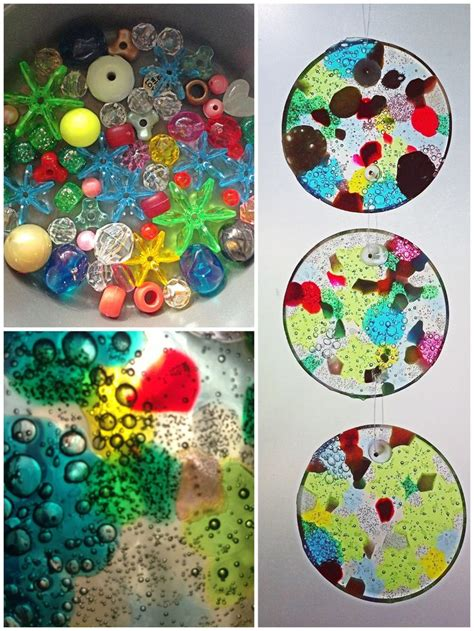 how to make suncatchers with plastic 17 best ideas about melting plastic on