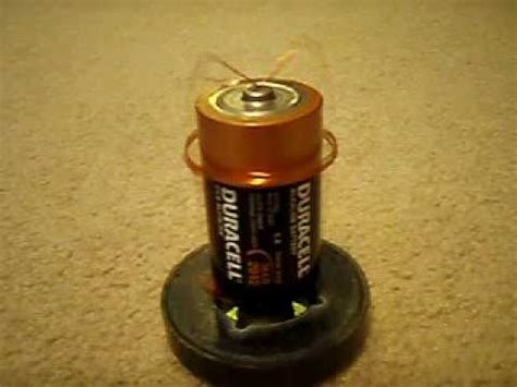 Electric Motor Battery by Electric Motor Run Of D Battery