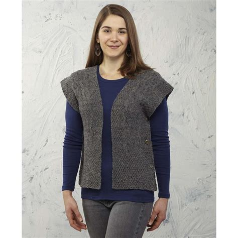 knit vest pattern ruana free for a vest knitting pattern