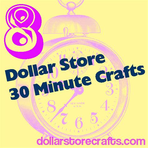 30 minute craft projects 8 projects that take 30 minutes or less including our