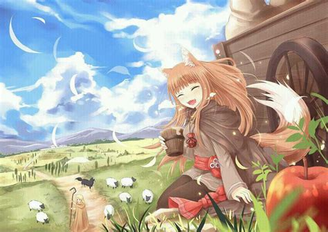 spice and wolf holo anime photo 28675859 fanpop
