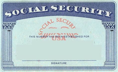 how to make a ssn card blank social security card template social security card