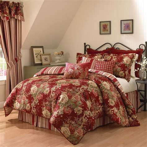 waverly comforters sets waverly ballad bouquet 4 comforter set at hayneedle