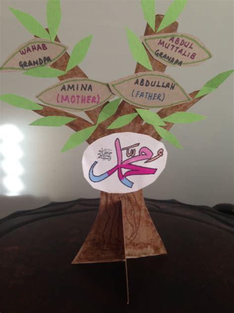 family crafts seerah muslim learning garden
