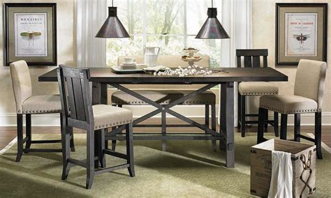 counter height dining table yosemite counter height dining set haynes furniture