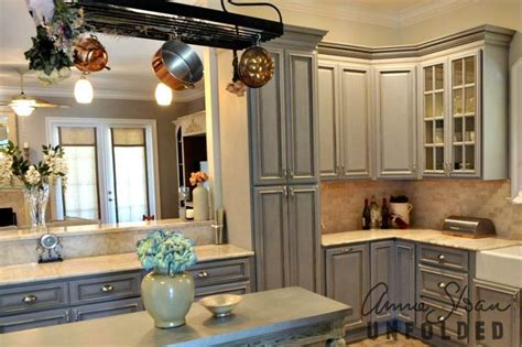 chalk paint kitchen cabinets country grey sloan chalk paint on kitchen cabinets in grey