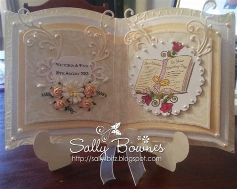 how to make a wedding card sallysbitz2 wedding card